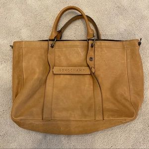 Longchamp 3D Medium Leather Tote